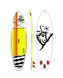 Paddleboard TAMBO - Nový český paddleboard