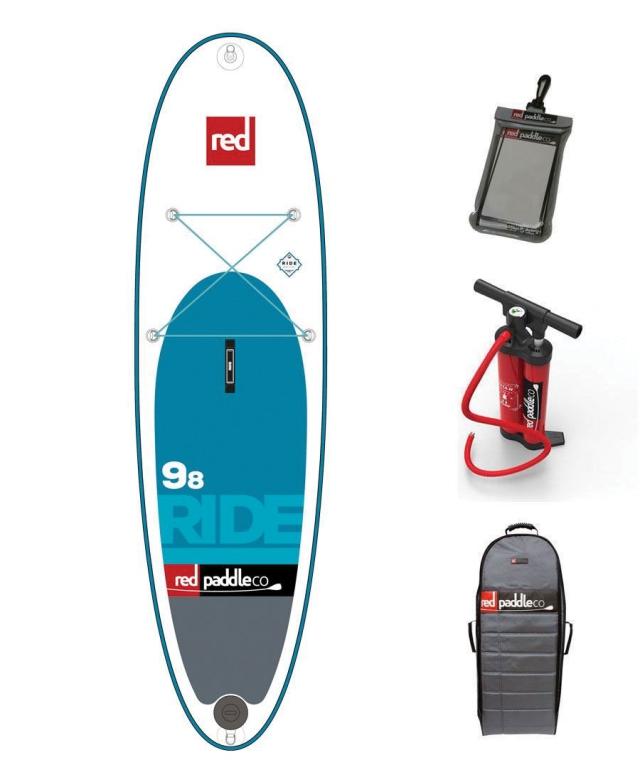 RED 9´8´´ RIDE MSL -  model 2017