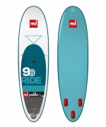 RED 9'8'' RIDE PADDLEBOARD - mod. 2015