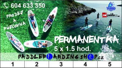 Paddleboardy - PERMANENTKY