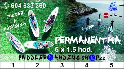 Paddleboardy - PERMANENTKY