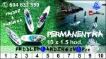 Permanentka - jízda na paddleboardu 10x