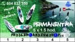 Permanentka - 5x jízda na paddleboardu